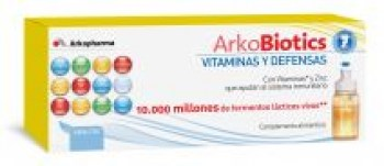 ARKOBIOTICS VITAMINAS Y DEFENSAS NIÑOS