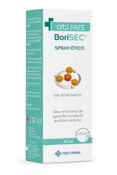 Borisec spray ótico 30 ml